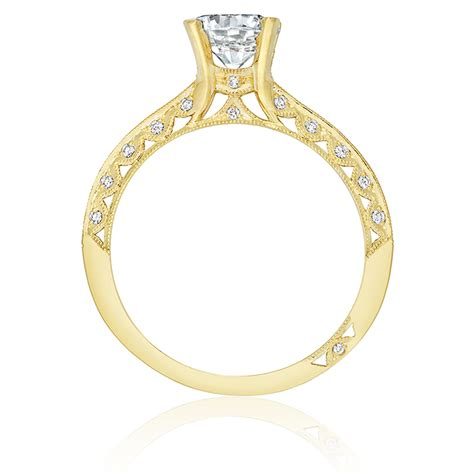 tacori 2616rd65y 18 karat tacori gold engagement ring tq