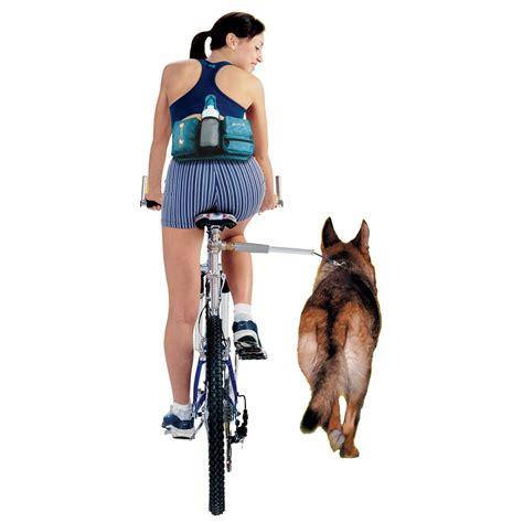 puppy plus walkydog plus 174 bike leash walky bike leash bicycle leash bike with your