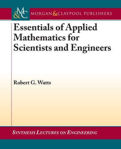 applied hydrogeology for scientists and engineers books essentials of applied mathematics for scientists and