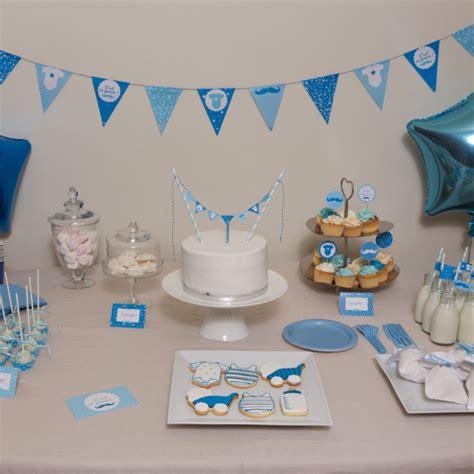 Baby Shower Decoration Kits by Kit Baby Shower Garcon Deco Fete De Naissance Achat Vente