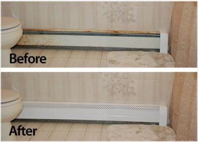 neat heat bathroom heater transform your rusty baseboards with baseboard covers from