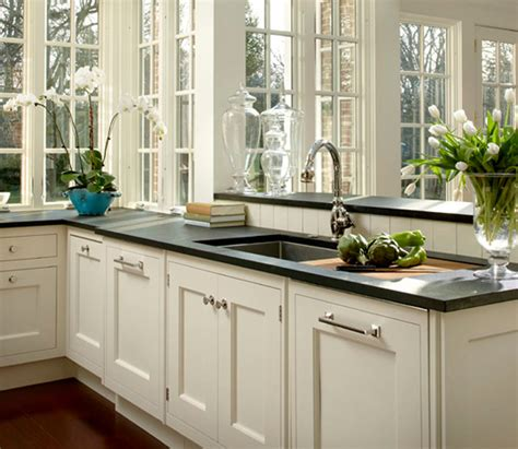 cream shaker kitchen cabinets polar cream granite design ideas