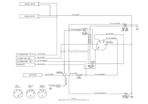 wiring diagram for troy bilt pony schematic wiring