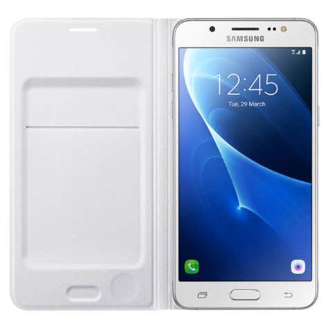 Flip Cover Sarung Samsung J5 2016 official samsung galaxy j5 2016 flip wallet cover white