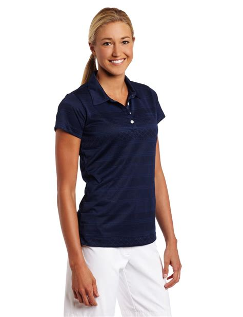 nike womens rugby stripe golf polo shirt discount nike