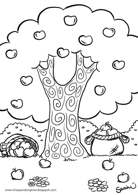 apple orchard coloring page apple orchard coloring sheet coloring pages