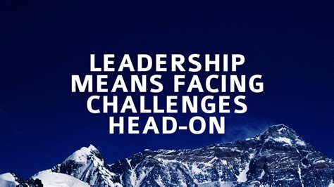 leading forward overcoming the obstacles of books leadership means facing challenges on the executive hub