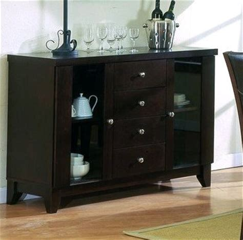 the collection solid wood formal dining room server