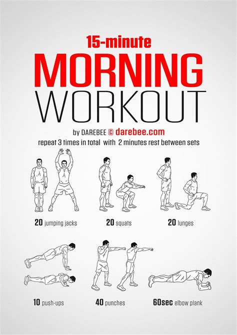 darebee on quot new morning workout https t co