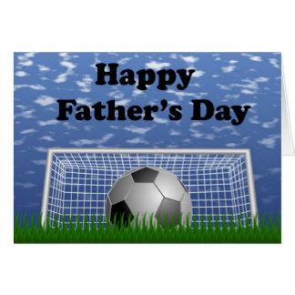 happy fathers day football cards zazzle