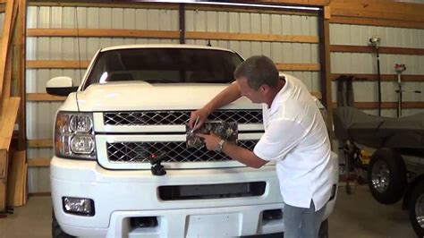 How To Install A Bow Window mossy oak graphics truck logo or emblem camo youtube