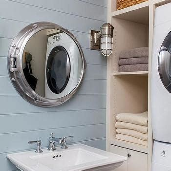 porthole bathroom cabinet stacked washer and dryer design ideas