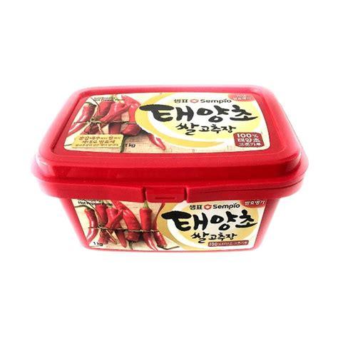 Sajo Gochujang Sambal Pasta Korea Pepper Paste jual sempio gochujang pepper paste sambal pasta korea 1 kg harga kualitas