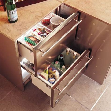 Counter Fridge Drawers by Thinking About A Drawer Refrigerator Rather Then The
