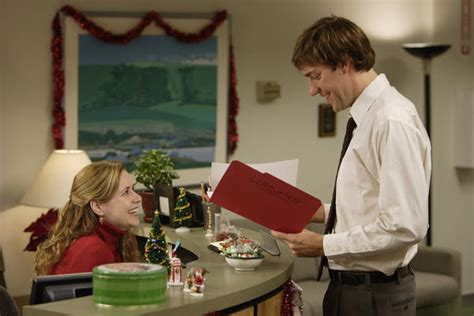 Who Plays Pam In The Office by Fischer Was Genuinely In With Office Costar