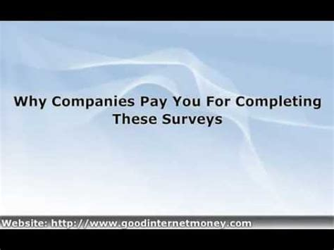 Earn Real Money For Taking Online Surveys - real paying paid surveys online make money 5 40 just