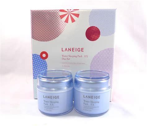 Laneige Sleeping Pack Di Counter review laneige water sleeping pack ex the junkee