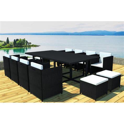 mobilier jardin 960 salon de jardin vidaxl top table de jardin table de