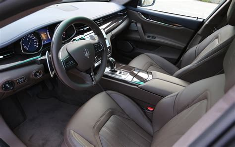 2014 Maserati Quattroporte V 8 Interior 2 Photo 10