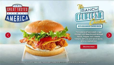 Mac Chicken Mcd calories in mcdonalds chicken burger