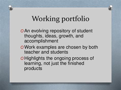 academic portfolio template student portfolio