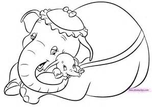 Of a tiny elephant dumbo 20 dumbo coloring pages free printables