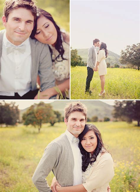 Pretty Wedding Photos by Engagement Photos Green Wedding Shoes Weddings