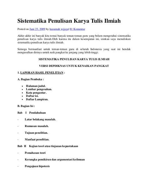 format penulisan artikel ilmiah pdf contoh karya tulis ilmiah contoh u