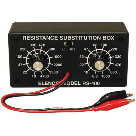 resistor kit box elenco resistor substitution box kit