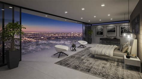 rooms in a home luxury bedroom with amazing view interior design ideas