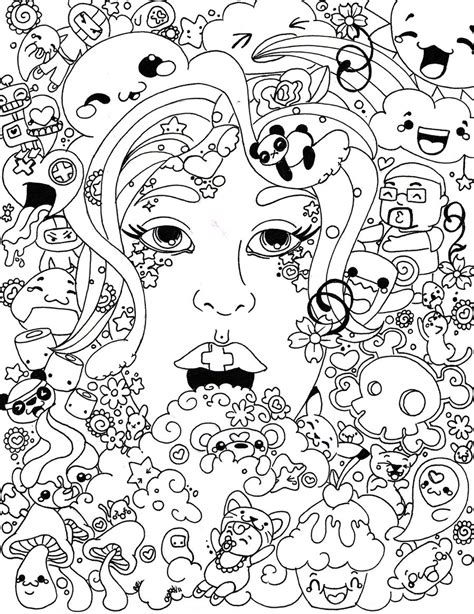 trippy in coloring pages psychedelic coloring pages to and print for free