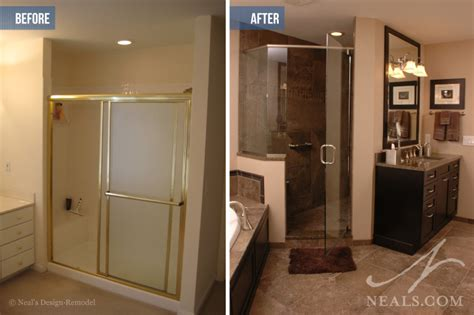 Bathroom Remodel Cost Vs Value Neal S Home Remodeling Design Cincinnati Cost