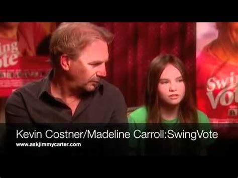 madeline carroll swing vote madeline carroll quot ask jim carter quot swing vote interview