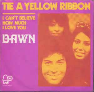 5 tie a yellow ribbon vinyl at discogs