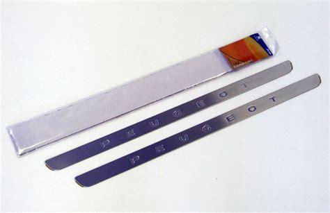 peugeot 308 door sill protectors stainless steel 3 door 1