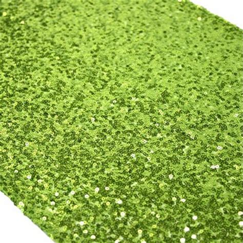 lime green table runner elegance collection linens premiere events tx