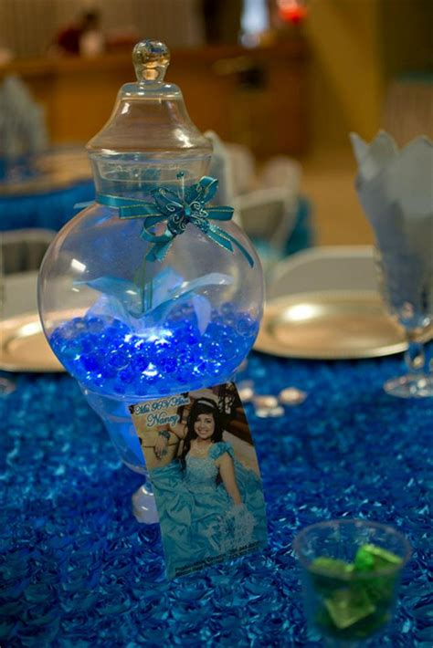 quinceanera reception houston butterflies turquoise