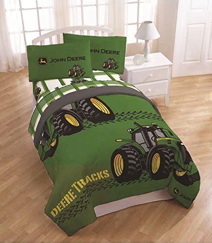 john deere tractor comforter and sheet set home garden