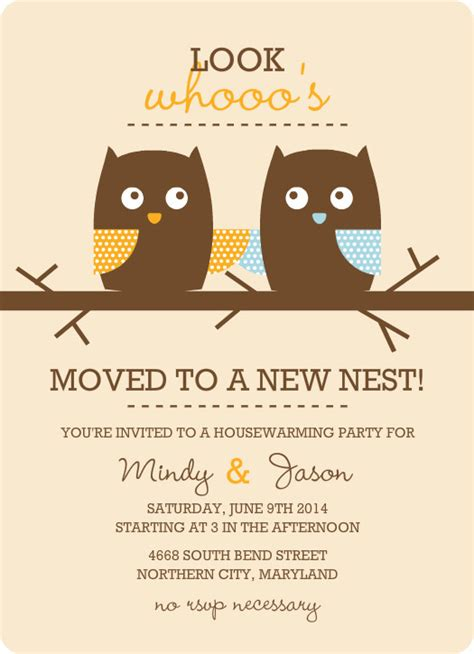 free housewarming invitation template housewarming templates free