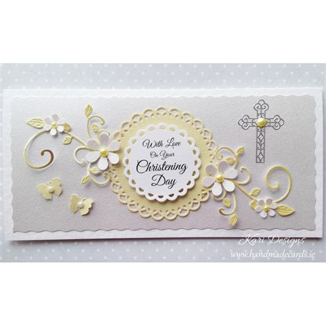 Christening Cards Handmade - handmade christening card