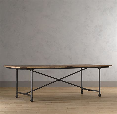 Flatiron Dining Table Restoration Hardware Flatiron Dining Look 4 Less
