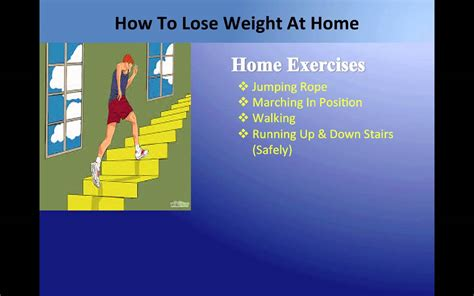how to lose weight at home requires dieting exercising