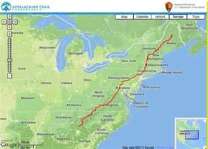 appalachian trail map appalachian trail outersports