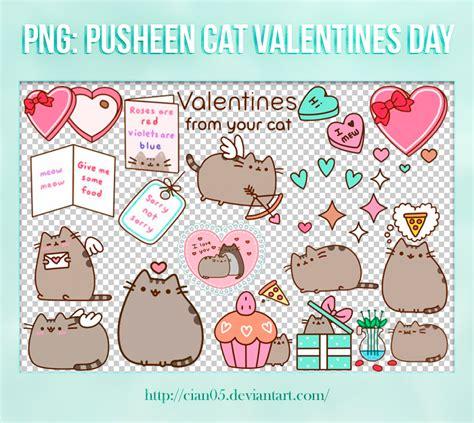 pack png pusheen cat s day cian05 by cian05