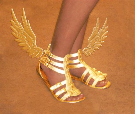 winged gladiator sandals winged sandals of myth by olympiangrace on deviantart