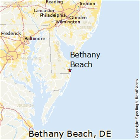 map maryland delaware beaches best places to live in bethany delaware