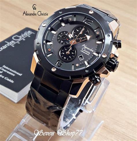 jual jam tangan pria alexandre christie   lapak