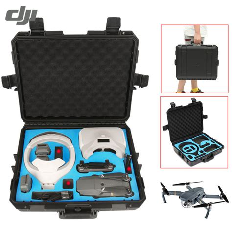 Dji Mavic Hardshell Carrying Bag dji mavic pro dji goggles hardshell waterproof shoulder