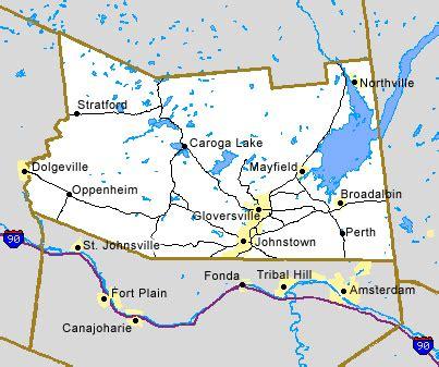 futon ny fulton county ny map discover gloversville stratford