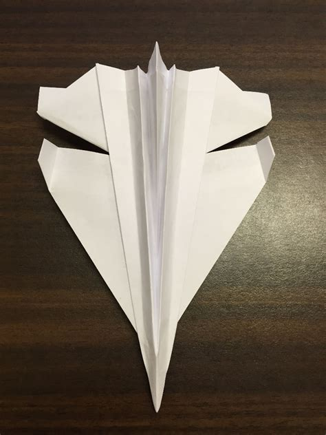 Origami 8 5 X 11 Paper - origami how to fold an origami f plane steps with
